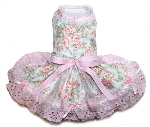 Shabby Chic in Ruffles Dress