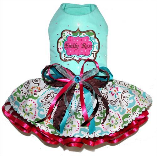 Mint Julep Personalized Dress