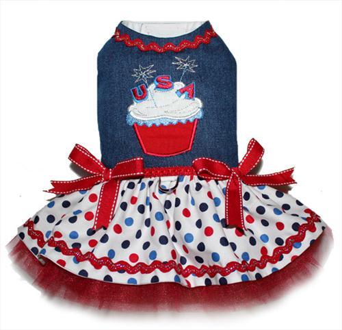 Patriotic Cupcake Dress
