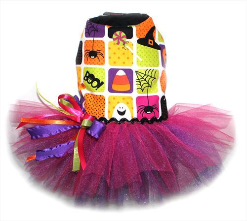 Halloween Candy Tutu