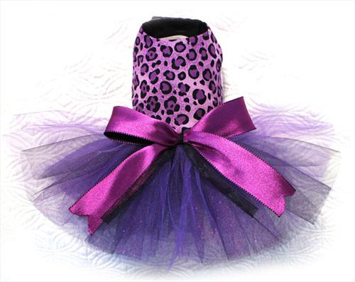 Sassy Purple Leopard Tutu