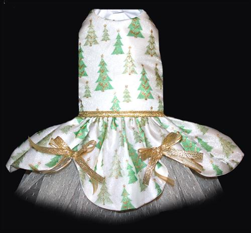 Christmas Tree Shimmer Dress