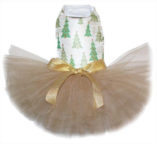 Christmas Tree Shimmer Tutu