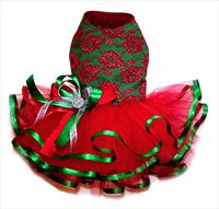 Lace Ballerina Christmas Dress