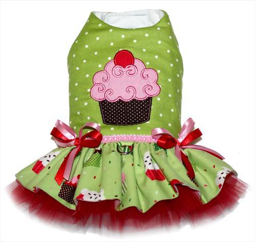 Christmas Cupcake Personalized Dress