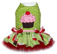 Christmas Cupcake Personalized Dress