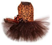 Rust Damask Fall Tutu