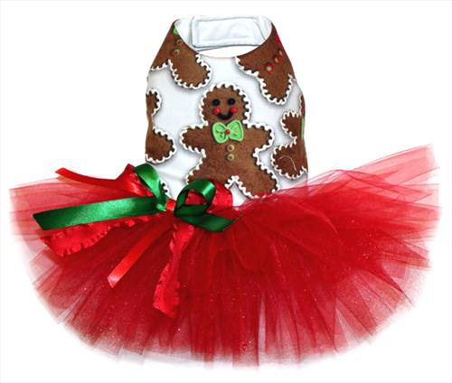 Gingerbread Cookie Tutu