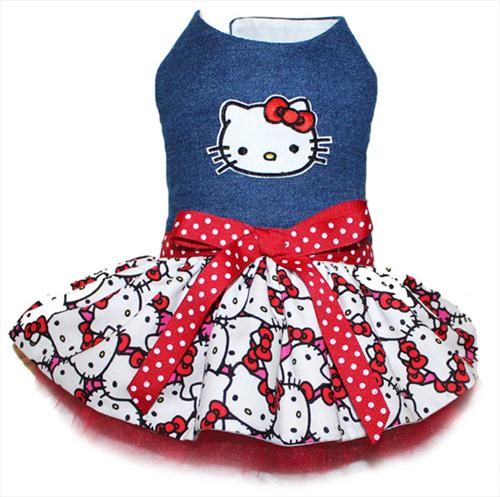 Denim Kitty Dress