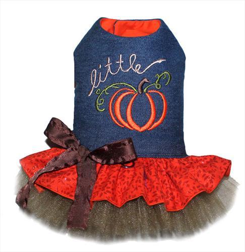 Little Pumpkin Dog Dress