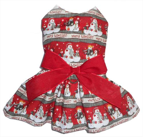 Merry & Bright Snowman Dress