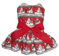 Merry & Bright Snowman Dress