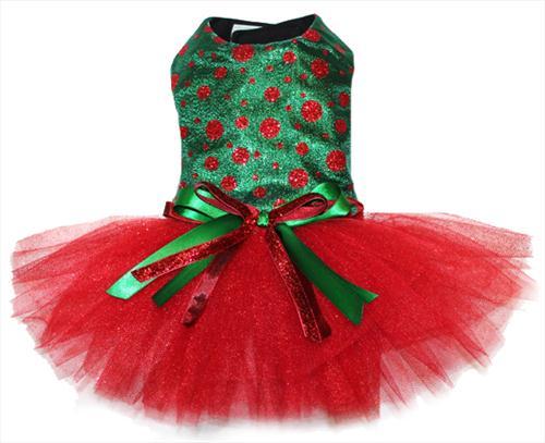 sparkly polka dot christmas dress