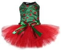 Sparkly Polka Dot Christmas Dress