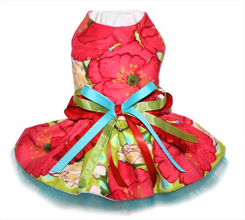 Garden of Poppies Dress
