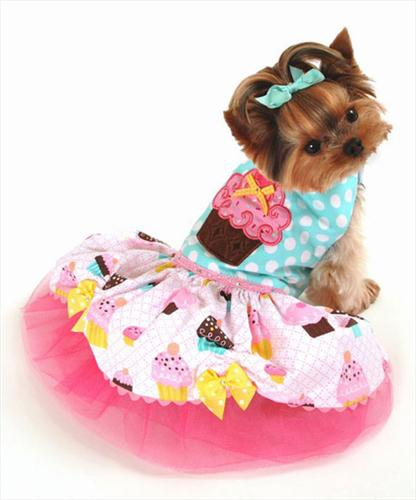 Personalized Pupcake Party Dress