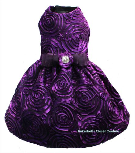Amethyst Rose Gown