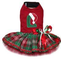 Santa Hat Monogrammed Dress