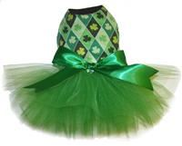 Green with Envy Shamrock Tutu